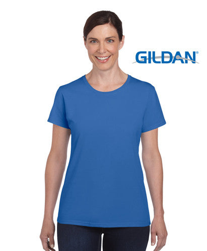 Gildan Heavy Cotton Ladies T-Shirt Royal
