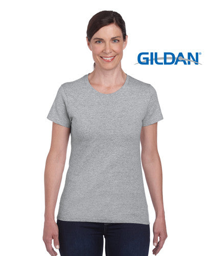 Gildan Heavy Cotton Ladies T-Shirt Sport Grey