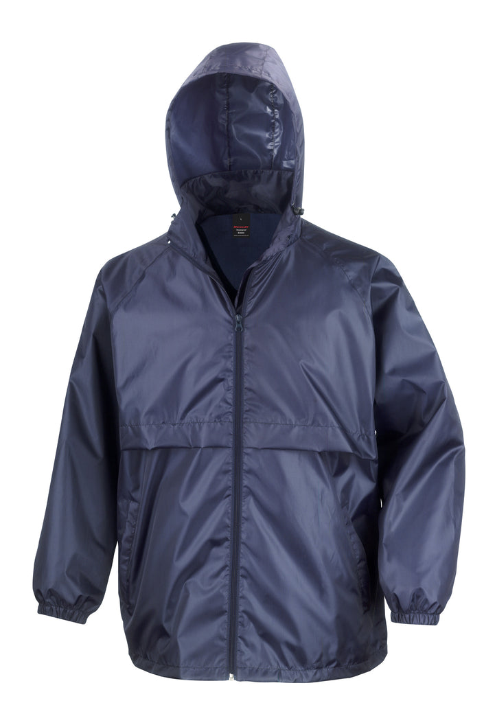 Results Adult Core Windcheater Navy