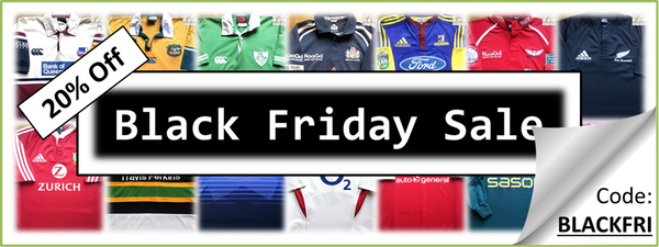 Black Friday Sale - Classic Rugby Shirts