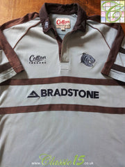 2002/03 Leicester Tigers Rugby Training Shirt (L)