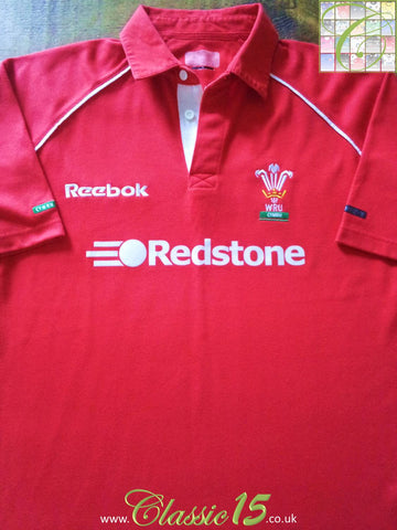2000/01 Wales Home Rugby Shirt (S)