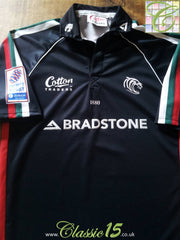 2004/05 Leicester Tigers Premiership Player Issue 3rd Rugby Shirt (L)