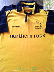2001/02 Newcastle Falcons Away Rugby Shirt (M)
