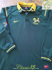 1999/00 South Africa Home Rugby Shirt (L)