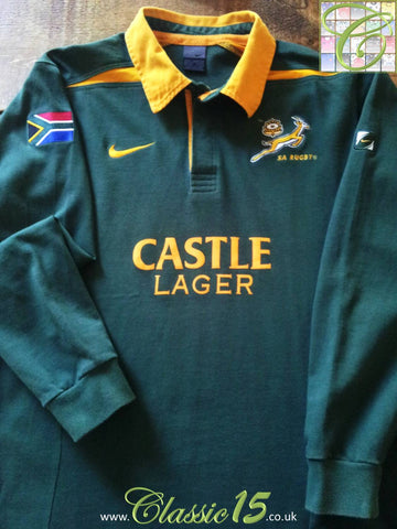 2003/04 South Africa Home Rugby Shirt (L)