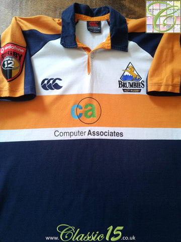 2002 ACT Brumbies Away Rugby Shirt (XL)