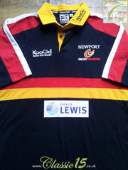 2003/04 Newport Gwent Dragons Home Shirt (M)
