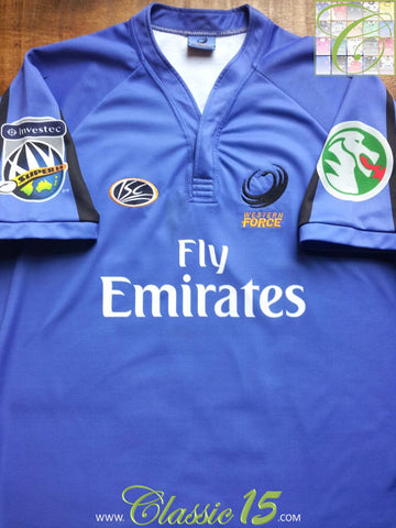 2007/08 Western Force Home Rugby Shirt (XL)