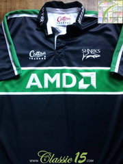 2001/02 Sale Sharks Away Shirt (L)