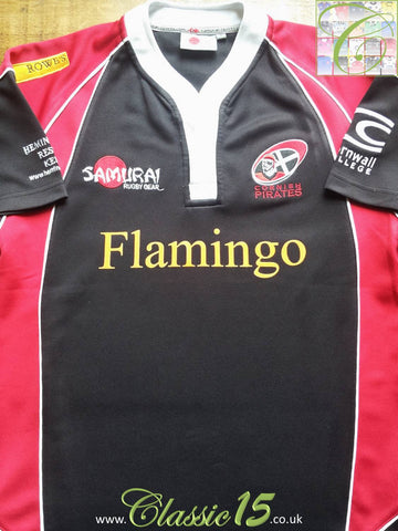 2006/07 Cornish Pirates Home Shirt (S)