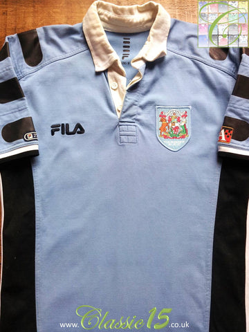 2000/01 Cardiff Home Rugby Shirt (L)