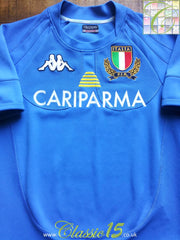 2007/08 Italy Home Pro Rugby Shirt (S)
