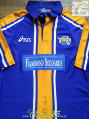 1998/99 Leeds Tykes Home Shirt Signed by Wendell Sailor (L)
