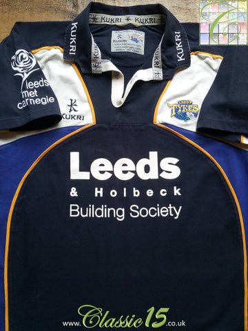 2004/05 Leeds Tykes Home Rugby Shirt (M)