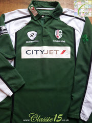 2008/09 London Irish Home Rugby Shirt. (L)