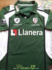 2007/08 London Irish Home Rugby Shirt (S)