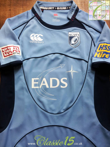 2008/09 Cardiff Blues Home Pro-Fit Rugby Shirt (S)