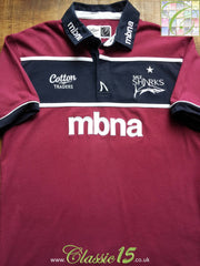 2011/12 Sale Sharks Away Rugby Shirt (M)