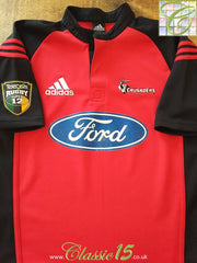 2001 Crusaders Home Super 12 Rugby Shirt (M)