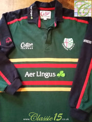 1999/00 London Irish Home Rugby Shirt. (M)