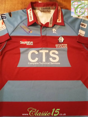 2009/10 Rotherham Titans Home Rugby Shirt (S)