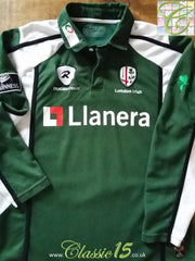 2007/08 London Irish Home Rugby Shirt. (M)