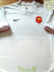 2011/12 France Away Rugby Shirt (M)