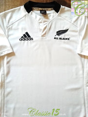 2011/12 New Zealand Away Rugby Shirt (S)