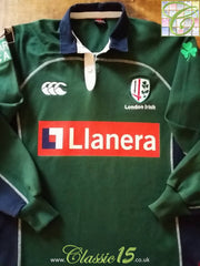 2006/07 London Irish Home Rugby Shirt. (S)
