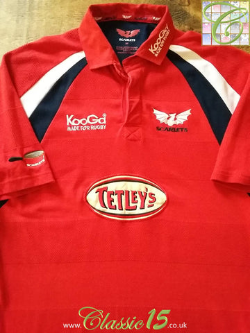 2003/04 Scarlets Home Rugby Shirt (L)