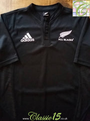 2007/08 New Zealand Home Rugby Shirt (M)