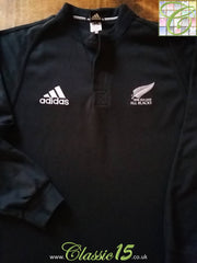 2000/01 New Zealand Home Rugby Shirt. (L)