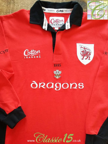 2004/05 London Welsh Home Rugby Shirt. (XL)
