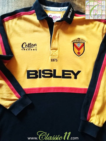 2002/03 Newport RFC Home Rugby Shirt (M)