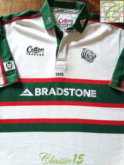 2002/03 Leicester Tigers Away Rugby Shirt (L)
