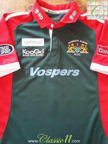 2004/05 Plymouth Albion Away Rugby Shirt (S)
