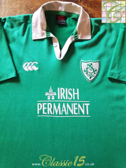 2000/01 Ireland Home Rugby Shirt (L)