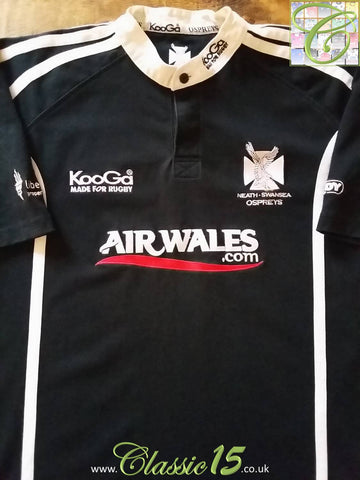 2003/04 Neath-Swansea Ospreys Home Rugby Shirt (L)