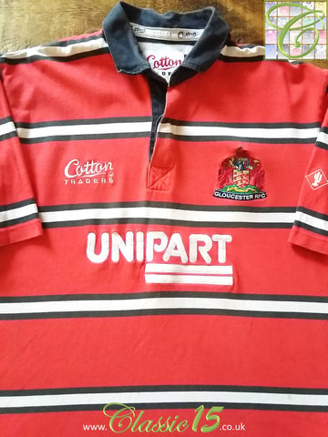 2001/02 Gloucester Home Rugby Shirt (L)