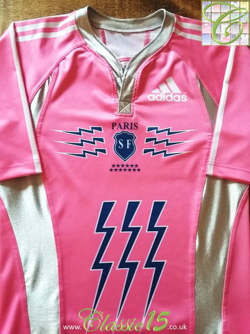 2007/08 Stade Francais Paris Away Rugby Shirt (M)