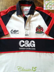 2003/04 Gloucester Leisure Rugby Shirt (M)