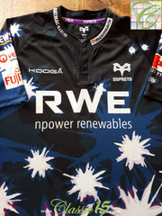 2010/11 Ospreys 3rd Rugby Shirt (S)