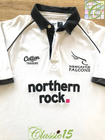 2008/09 Newcastle Falcons Away Rugby Shirt (M)