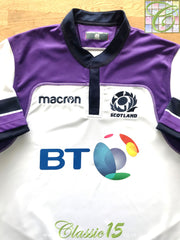 2017/18 Scotland Away Pro-Fit Rugby Shirt (XXL)