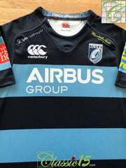 2014/15 Cardiff Blues Home Rugby Shirt (L)