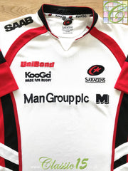 2006/07 Saracens Rugby Training Shirt (S)