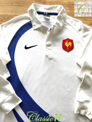 2007/08 France Away Rugby Shirt. (S)