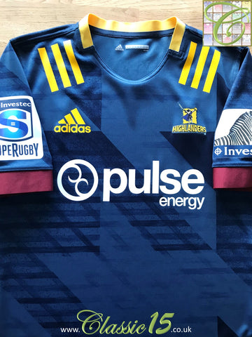 2020 Highlanders Home Super Rugby Rugby Shirt (XL)