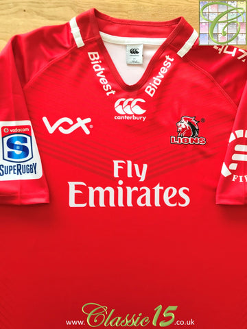 2017 Lions Home Super Rugby Shirt (XXL)